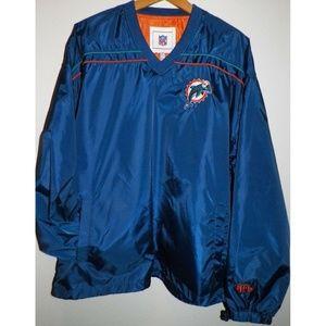 Men's XL Vintage Miami Dolphins Pullover